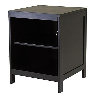 Winsome Hailey – Meuble modulaire pour téléviseur, étagère ouverte, petit, espresso