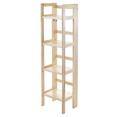 Winsome 4-Tier Foldable Shelf, Narrow