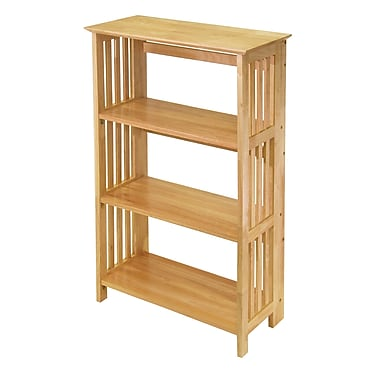 Winsome Mission 4-Tier Shelf, Natural