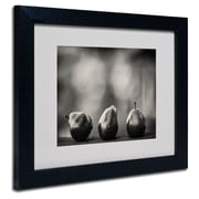 Trademark Fine Art 'Three Red Pears'