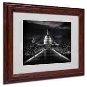 "Trademark Fine Art '06 Giugno' 11"" x 14"" Wood Frame Art"