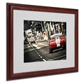 Trademark Fine Art 'As a Move' 16in. x 20in. Wood Frame Art