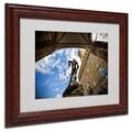 Trademark Fine Art 'Perseus' 11in. x 14in. Wood Frame Art