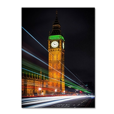 Trademark Fine Art 'Streams Over Westminster' 22