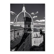 """Trademark Fine Art 'Brunelleschi' 30"""" x 47"""" Canvas Art"""