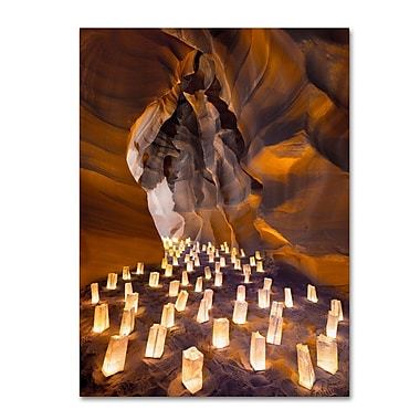 Trademark Fine Art 'Candle Canyon I' 16
