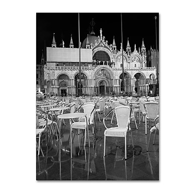Trademark Fine Art 'Chairs In San Marco' 35