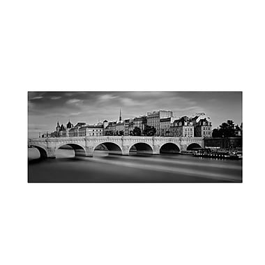 Trademark Fine Art 'Paris River' 14