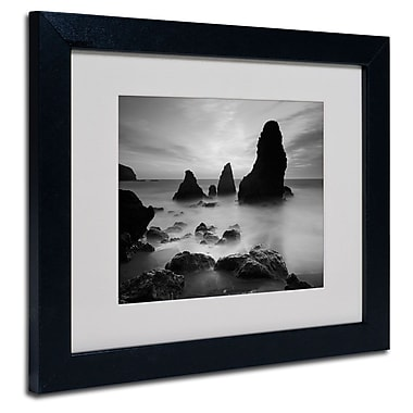 Trademark Fine Art 'Rodeo Beach I Black and White'