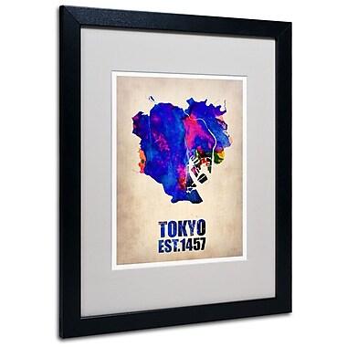 Trademark Fine Art 'Tokyo Watercolor Map' 16