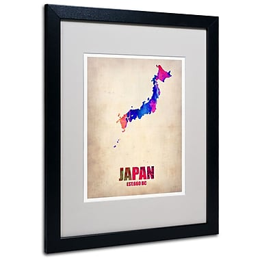 Trademark Fine Art 'Japan Watercolor Map' 16
