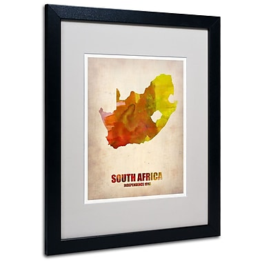 Trademark Fine Art 'South Africa Watercolor Map' 16