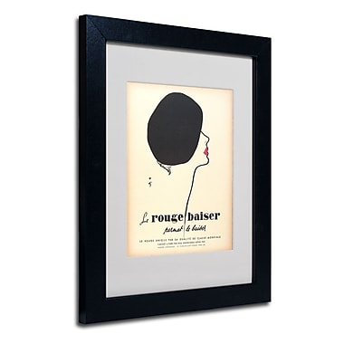 Trademark Fine Art 'Le Rouge Baiser'