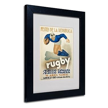 Trademark Fine Art 'Rugby'