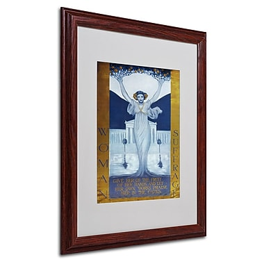Trademark Fine Art 'Woman Suffrage' 16