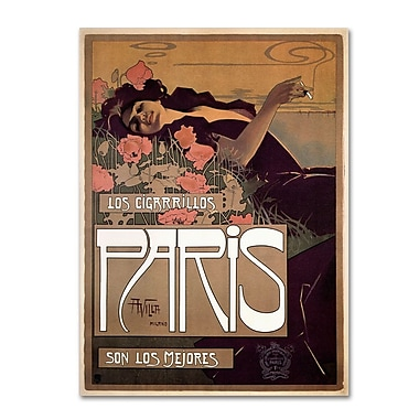 Trademark Fine Art 'Paris Cigarettes 1901' 14