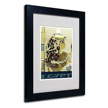 Trademark Fine Art 'Visit Egypt Cleopatra'