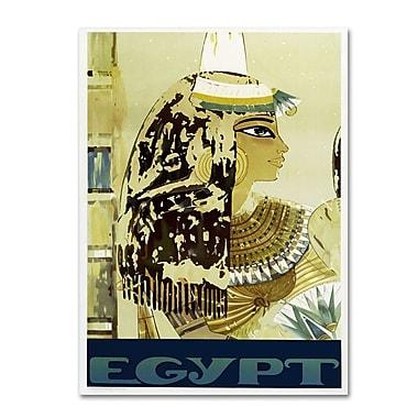 Trademark Fine Art 'Visit Egypt Cleopatra' 22