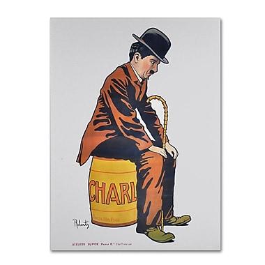Trademark Fine Art 'Chaplin' 14