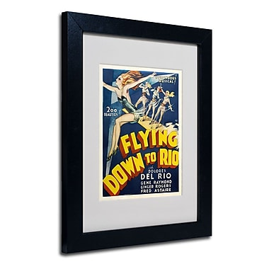 Trademark Fine Art 'Flying Down to Rio'