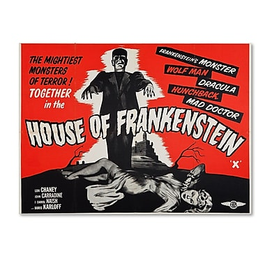 Trademark Fine Art 'House of Frankenstein' 18