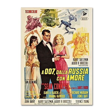 Trademark Fine Art 'From Russia With Love' 35