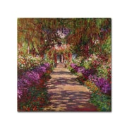 Trademark Fine Art 'A Pathway in Monet'