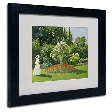 Trademark Fine Art 'Jeanne Marie Lecadre in the Garden'