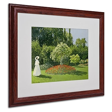 Trademark Fine Art 'Jeanne Marie Lecadre in the Garden' 16