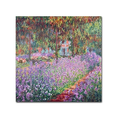 Trademark Fine Art 'The Artist's Garden at Giverny' 18