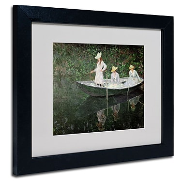 Trademark Fine Art 'The Boat at Giverny'
