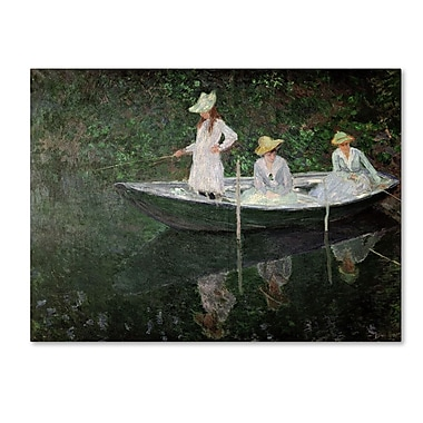 Trademark Fine Art 'The Boat at Giverny' 35