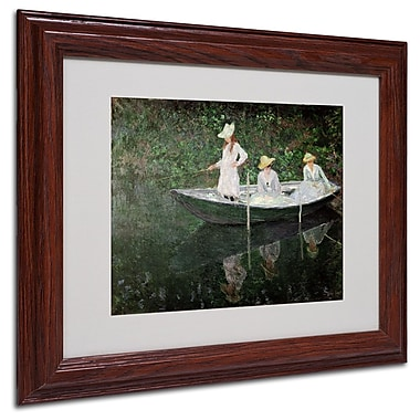 Trademark Fine Art 'The Boat at Giverny' 11