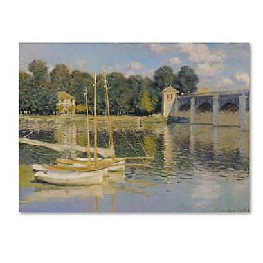 Trademark Fine Art 'The Bridge at Argenteuil' 14