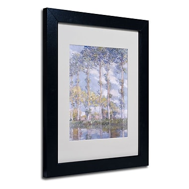 Trademark Fine Art 'The Poplars'