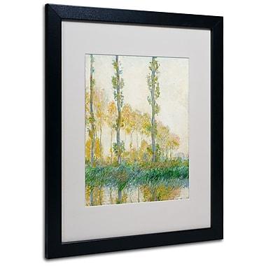 Trademark Fine Art 'The Three Trees Autumn' 16