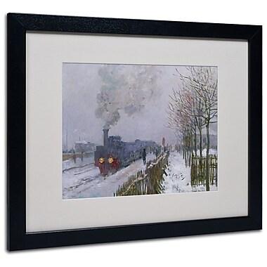 Trademark Fine Art 'Train In the Snow' 16