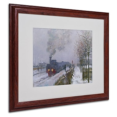 Trademark Fine Art 'Train In the Snow' 16