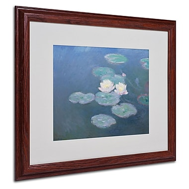 Trademark Fine Art 'Waterlilies Evening' 16