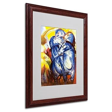 Trademark Fine Art 'A Tower of Blue Horses' 16