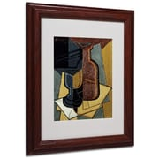 "Trademark Fine Art 'Abstract I' 11"" x 14"" Wood Frame Art"