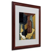Trademark Fine Art 'Abstract I' 16 x 20 Wood Frame Art