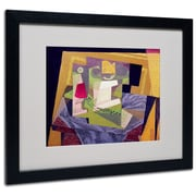 "Trademark Fine Art 'Composition on a Table' 16"" x 20"" Black Frame Art"