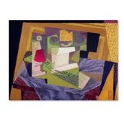 "Trademark Fine Art 'Composition on a Table' 14"" x 19"" Canvas Art"