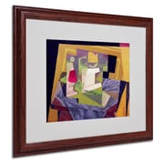 "Trademark Fine Art 'Composition on a Table' 16"" x 20"" Wood Frame Art"