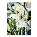 Trademark Fine Art 'Cubist Lilies' 18in. x 24in. Canvas Art
