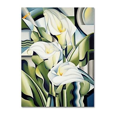 Trademark Fine Art 'Cubist Lilies' 18