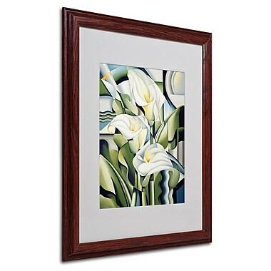 Trademark Fine Art 'Cubist Lilies' 16