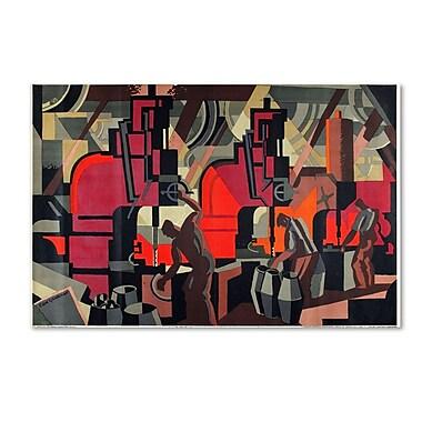 Trademark Fine Art 'Motor Manufacturing' 30