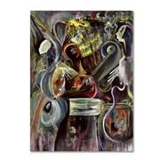 "Trademark Fine Art 'Pearl Jam' 22"" x 32"" Canvas Art"